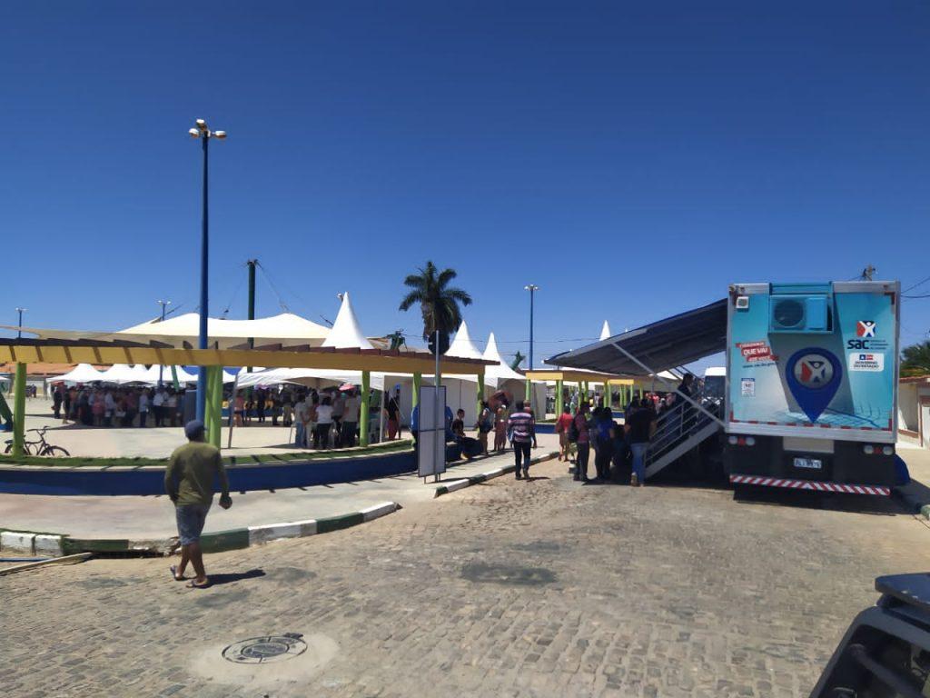SAC Móvel chega a municípios localizados na Chapada Diamantina. Foto: Divulgação