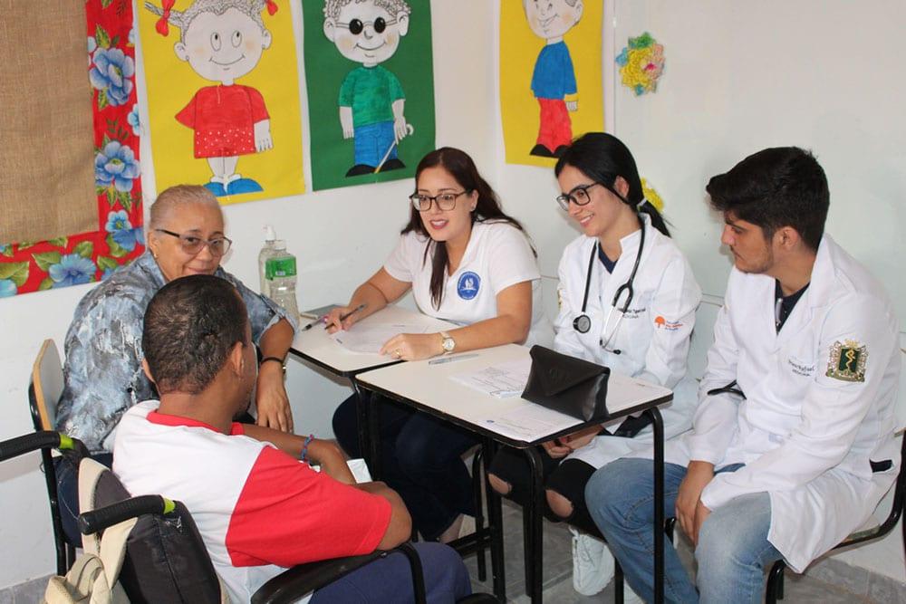 UNIFASB promove evento de culminância do projeto que cuida da saúde de pessoas com deficiência. Foto: Divulgação