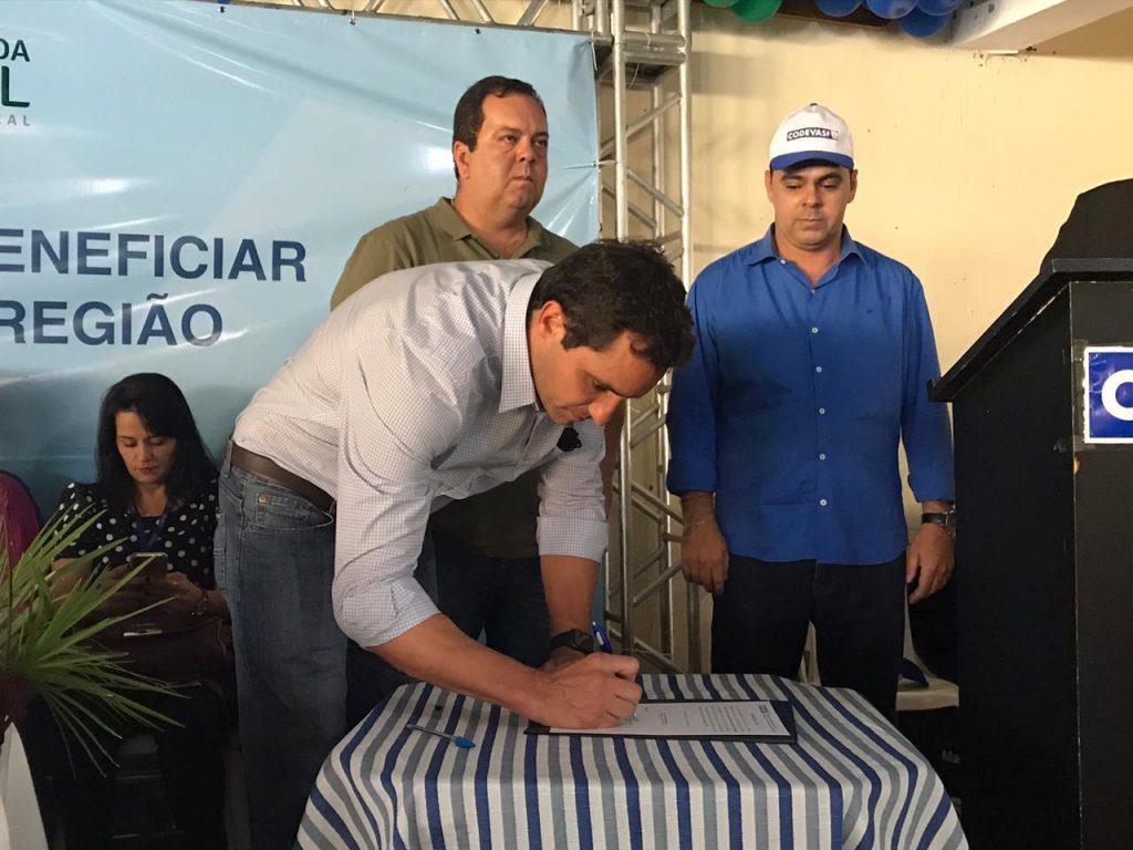 Codevasf entrega obras e autoriza execução de serviços no semiárido baiano. Foto: Divulgação/Codevasf