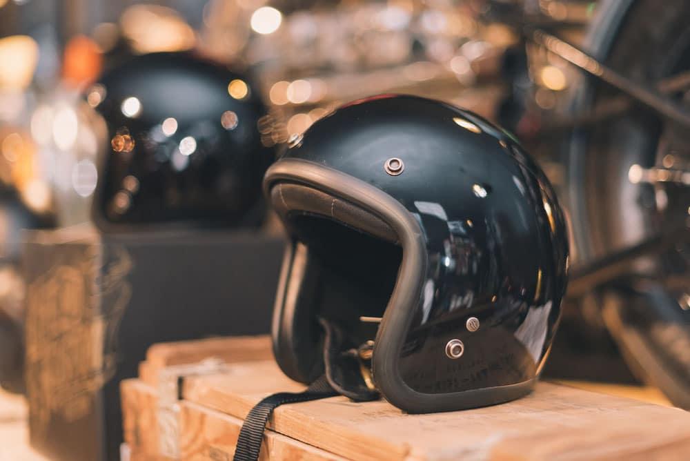 Capacete aberto protege o motociclista?. Foto: Divulgação
