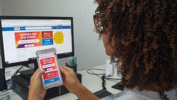 Matrícula 2020 - SAC Digital. Foto: Cláudia Oliveira