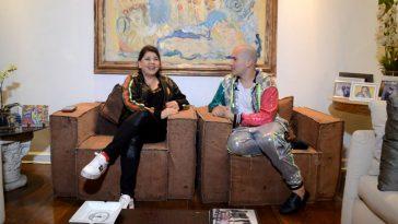 Roberta Miranda e Júnior Pacheco. Foto: Nil Fernandes / Renato Cipriano - Divulgação
