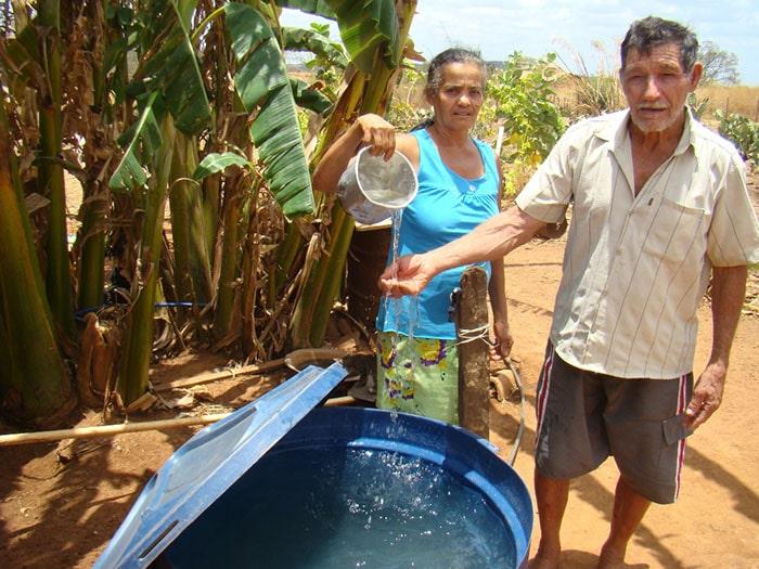 Ana Francisca e José Candido Fêlix - povoado Caraíbas, Serra Dourada (BA). Foto: Divulgação