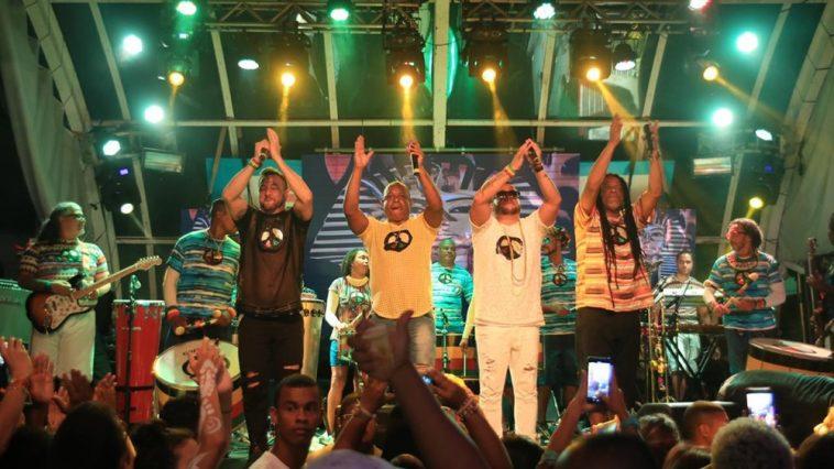 Banda Olodum. Foto: Magali Moraes