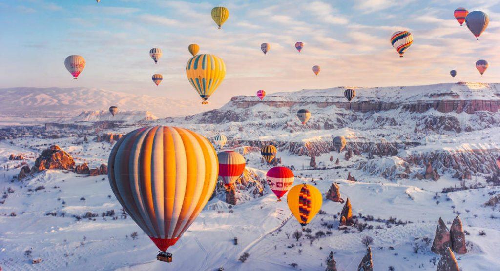 Capadócia, Turquia. Foto: Reprodução / MF Press Global