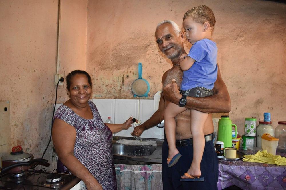 Casal João dos Santos e Vera Lúcia dos Santos - Gameleira, Barreiras (BA) (Foto: Divulgação)