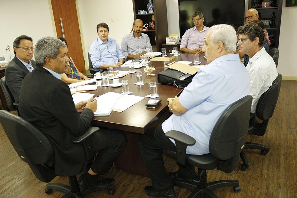 Secretário Jerônimo Rodrigues recebe Gestores da Ufba (Foto: Divulgação)