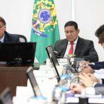 Videoconferência com Governadores do Centro-Oeste (Foto: Marcos Corrêa/PR)