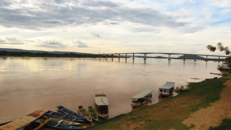 Rio São Francisco em Ibotirama (Foto: Reprodução)