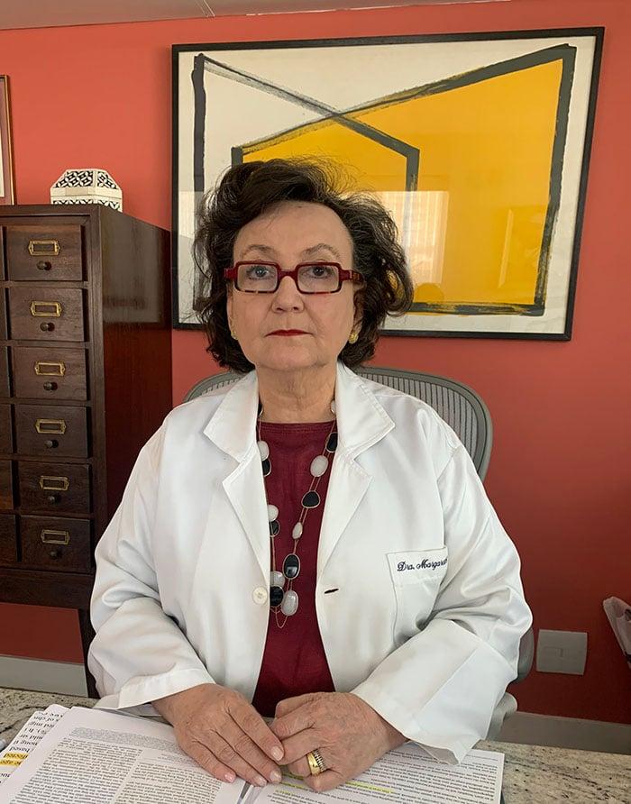 A médica pneumologista, Margareth Dalcolmo, foi escolhida pelos Aliados da Pública para ser entrevistada (Foto: Arquivo pessoal)