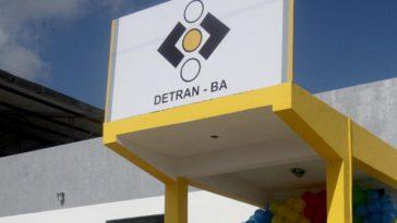 Fachada da nova sede da 2ª Regional de Trânsito (RETRAN) de Dias D'Ávila (Foto: Reprodução)