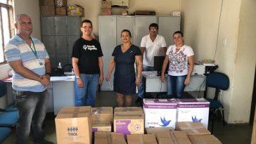 Entrega de materiais de saúde na Prefeitura de Correntina (Foto: Divulgação)