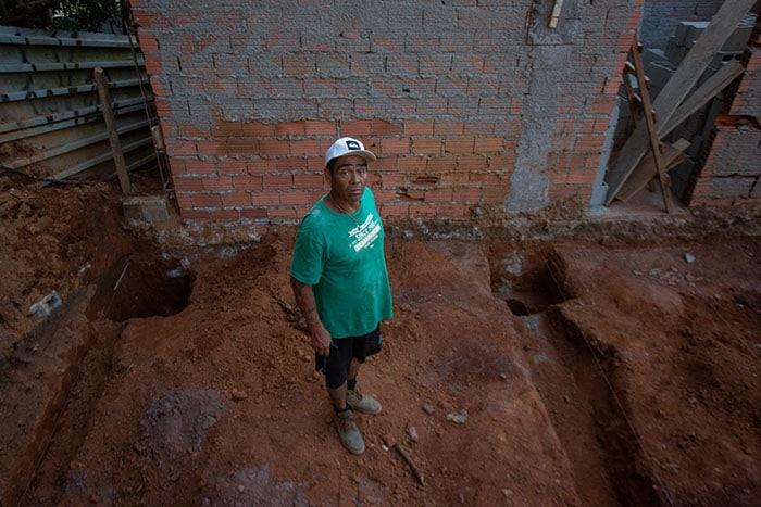 Julio Werner Alvarez é colombiano e chegou ao Brasil em 2011 (Foto: José Cícero da Silva/Agência Pública)