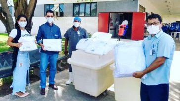 Doação para o Hospital do Oeste Abapa (Foto: Divulgação)