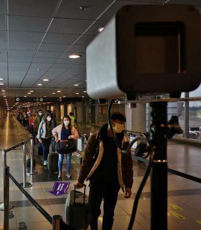 Câmera Térmica Aeroporto El Dorado Colômbia (Imagem: Divulgação)