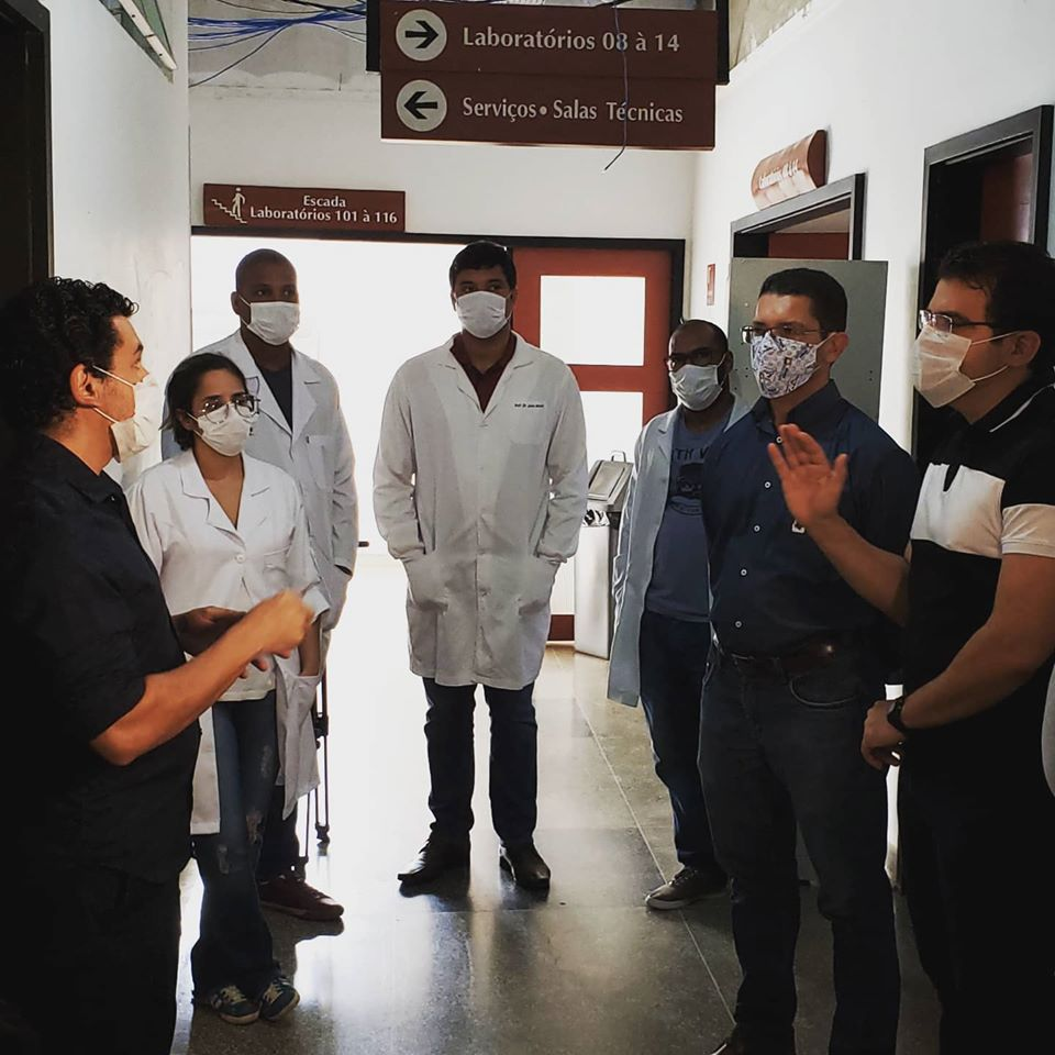 Abapa viabiliza apoio para laboratório Covid-19 em Barreiras (Imagem: Divulgação)