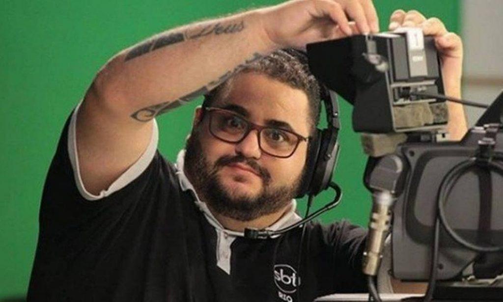 Operador de Câmera da sede do SBT no Rio de Janeiro morreu, vítima da Covid-19 (Imagem: Reprodução/Instagram)