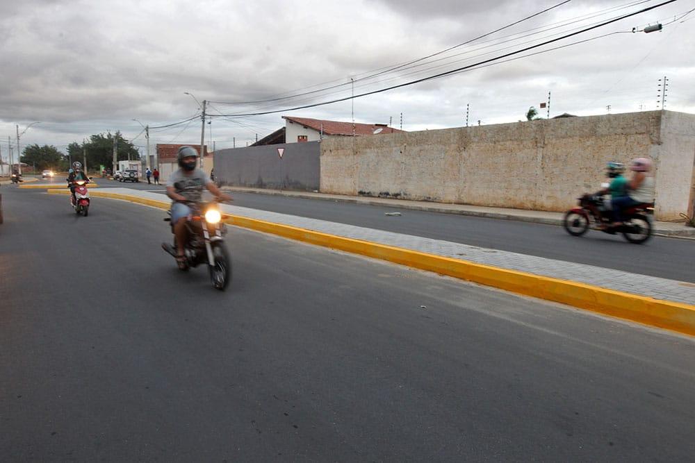 Rua Sebastião Almeida (Foto: Carol Garcia/ GOVBA)