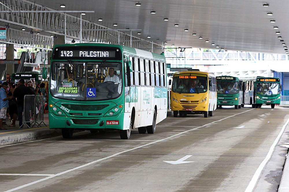 Terminal de Integração Pirajá (Ônibus / Metrô) (Foto: Elói Corrêa/GOVBA)