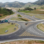 Também foram entregues os viadutos de Guarapari (km 335) e de Amarelos (km 321) (Foto: Divulgação)